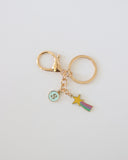 Alphabet Shootingstar Keyring