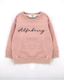 Alfaberry Signature Jumper in Dust Front