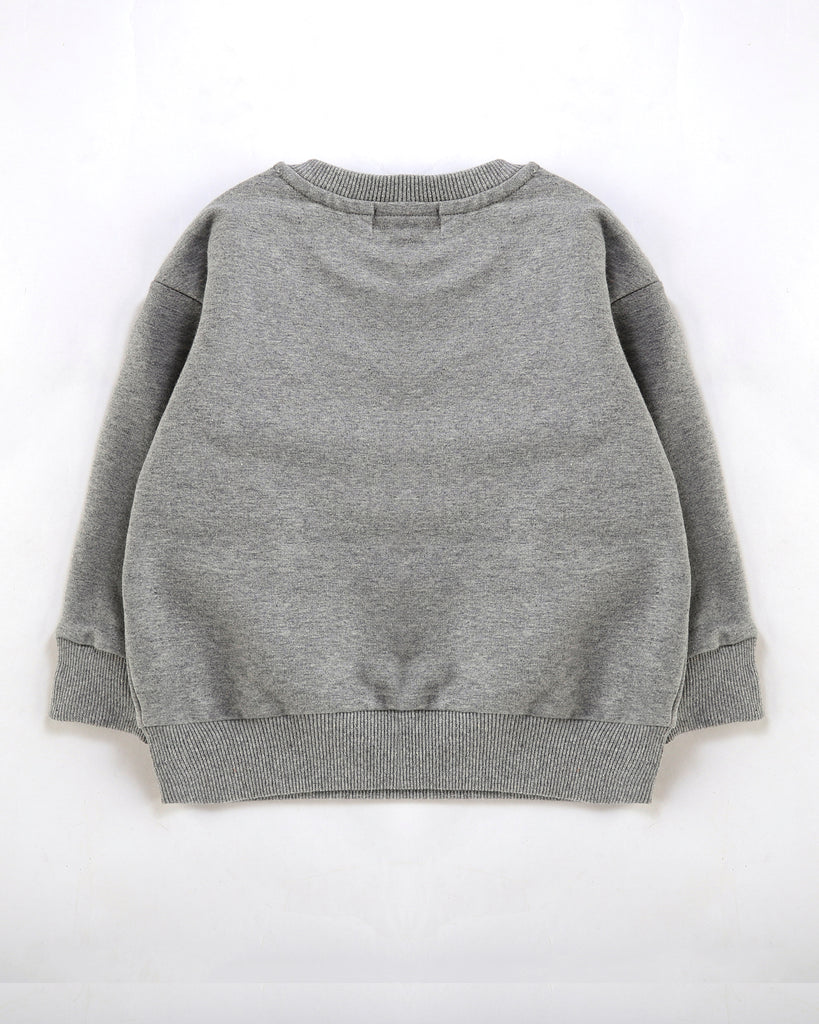 Alfaberry Signature Jumper in Grey