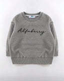 Alfaberry Signature Jumper in Grey Front