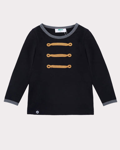 Sing It Out Loud Jumper in Black