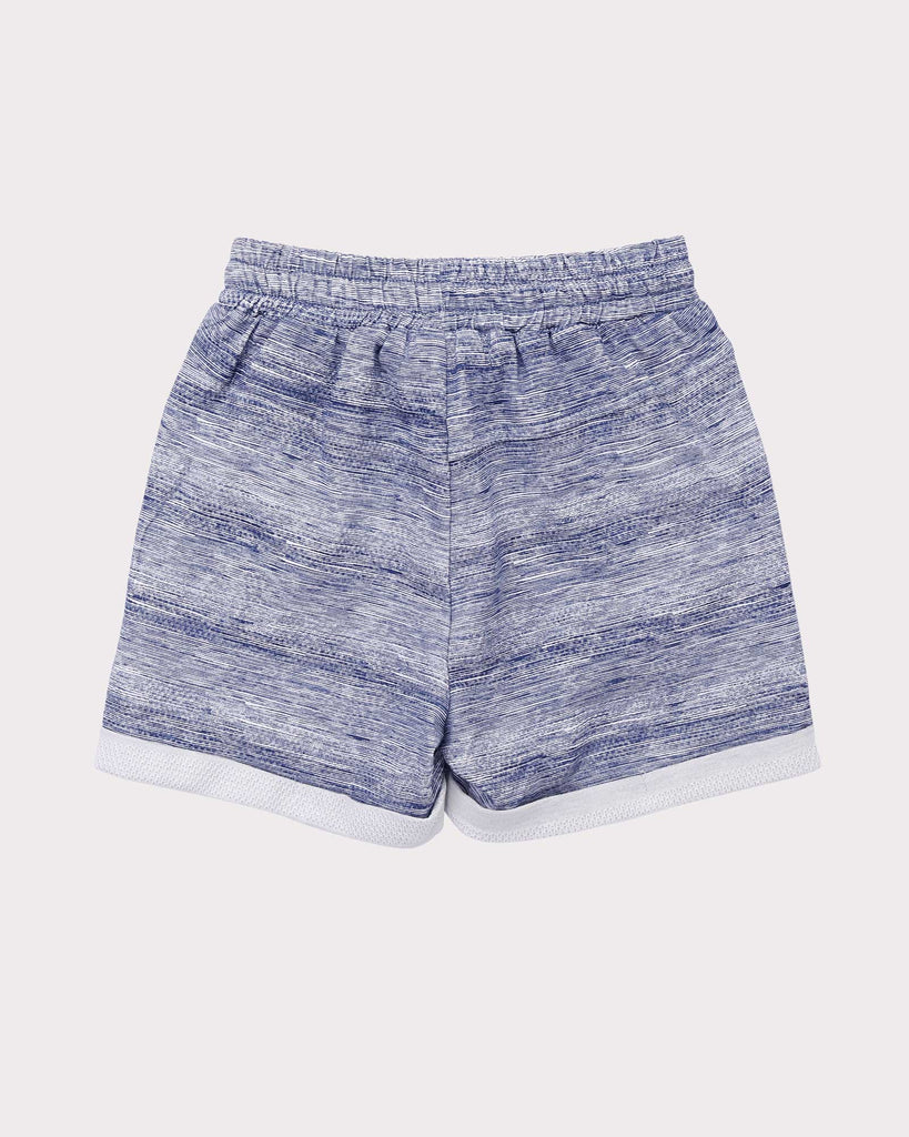 Breakaway Short in Blue back