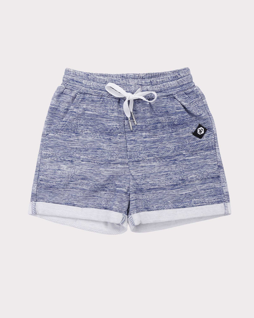 Breakaway Short in Blue front