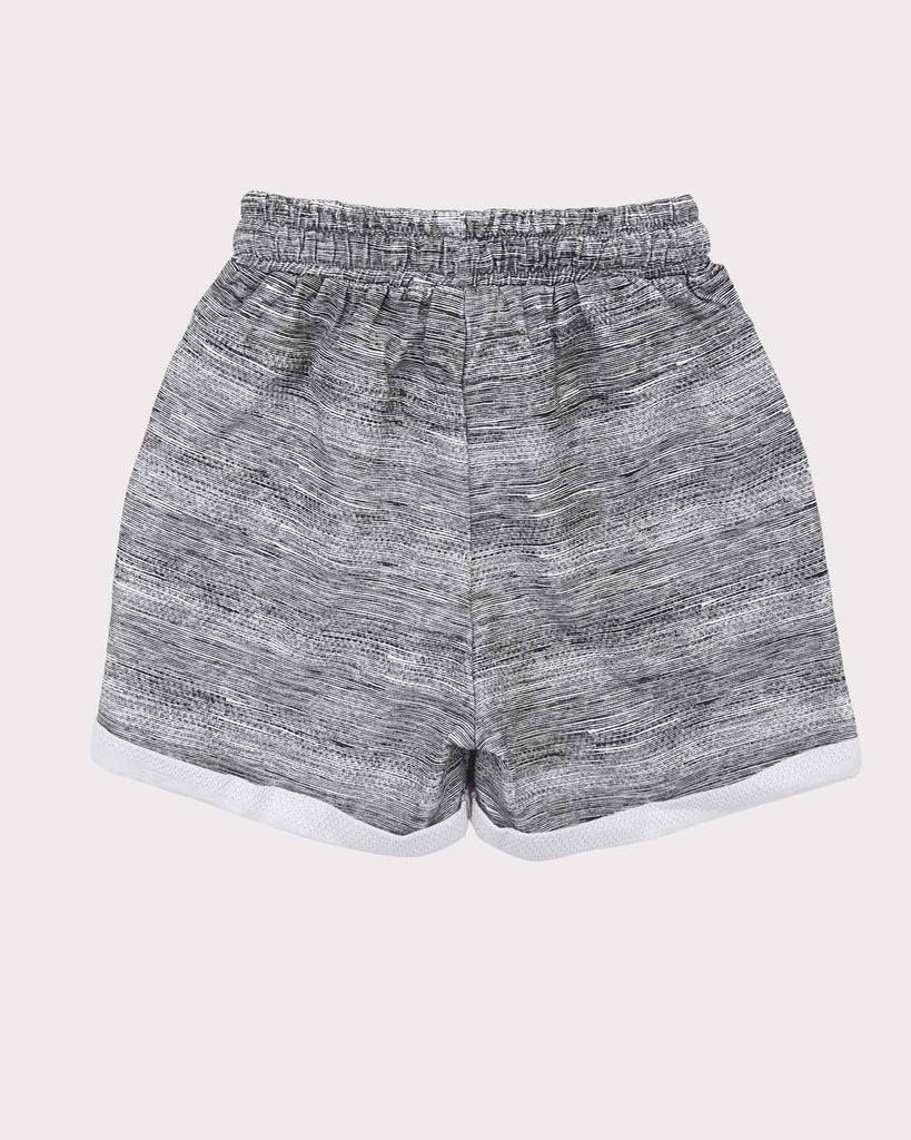 Breakaway Short in Grey back