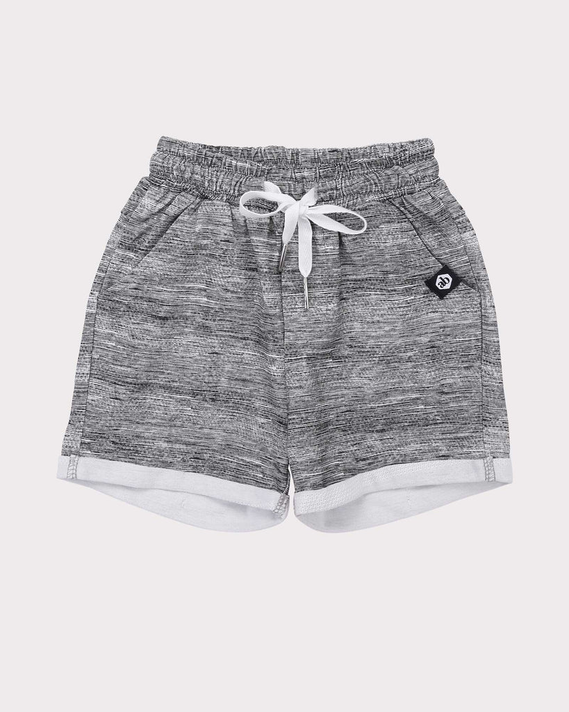 Breakaway Short in Grey front