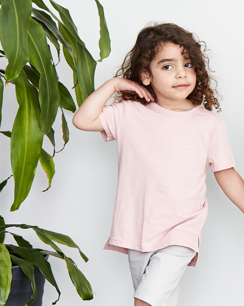 Buddy Tall Tee in Blush