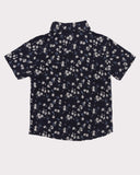 Clover Field Shirt in Navy back
