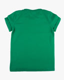 Full Speed or Nothing Tee green back