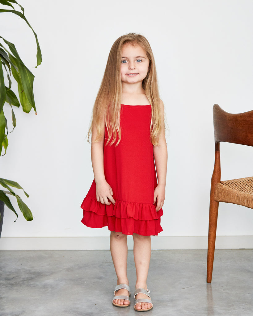 Giselle Dress in Red