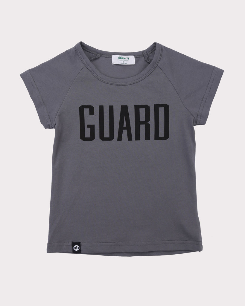 Guard Tee in Metal front