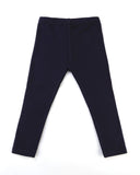 Here to stay Leggings In Navy Front