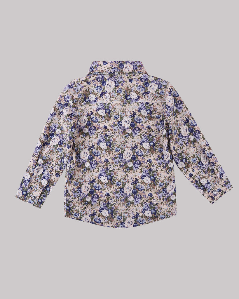 Hey You Floral Shirt Back