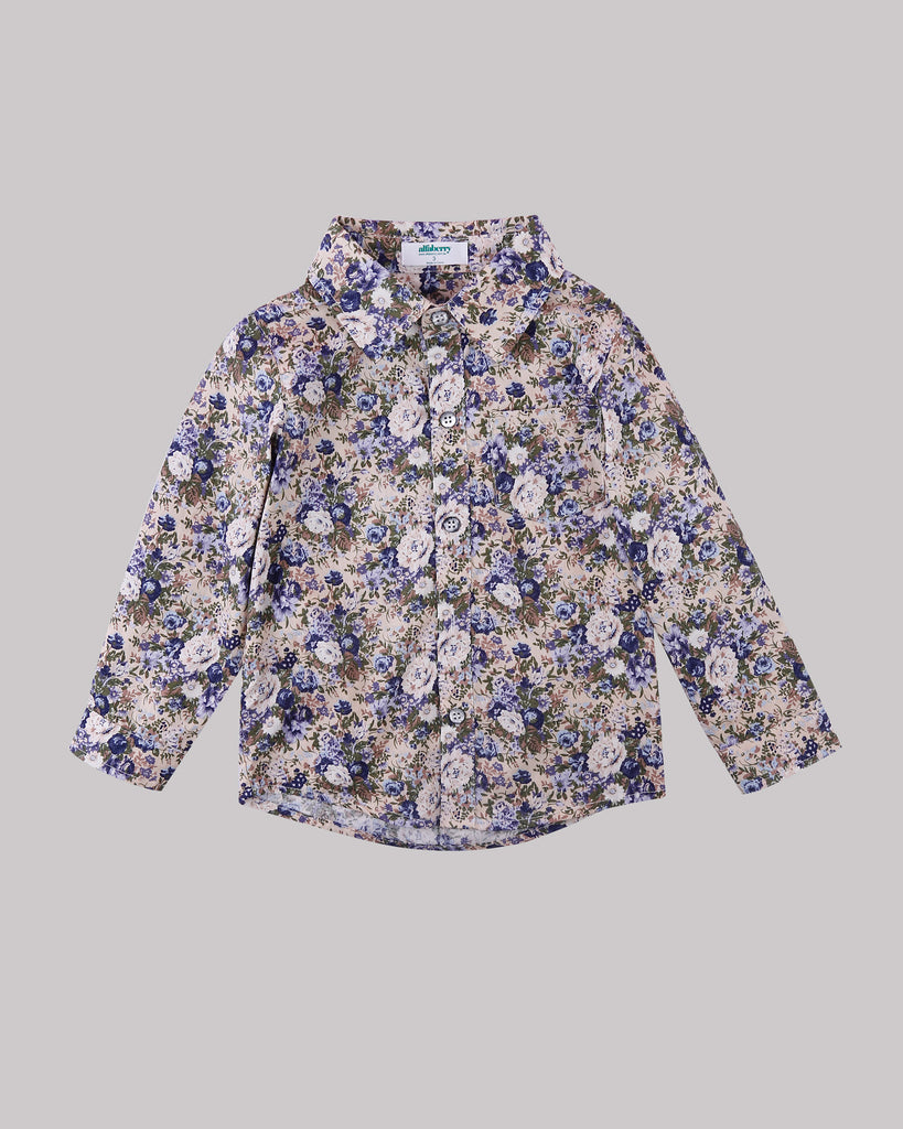 Hey You Floral Shirt Front