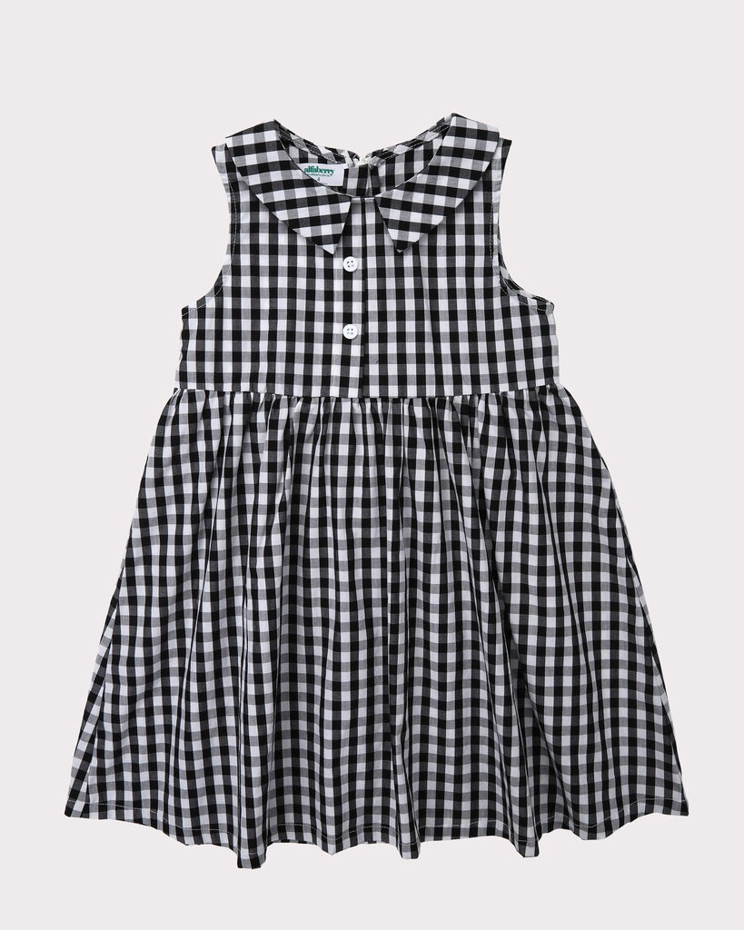 Sunshine Dress In Gingham Front