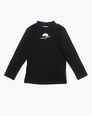 Scribbles Jumper in Black