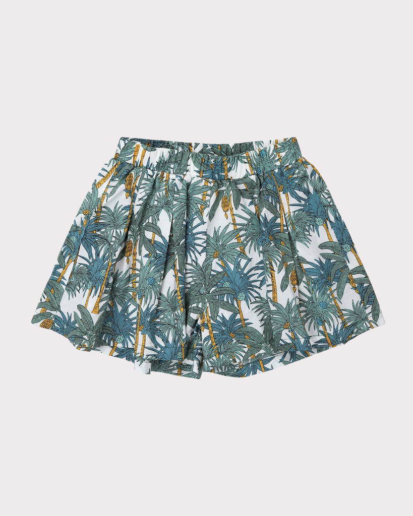 Into the Jungle Skirt In White Front