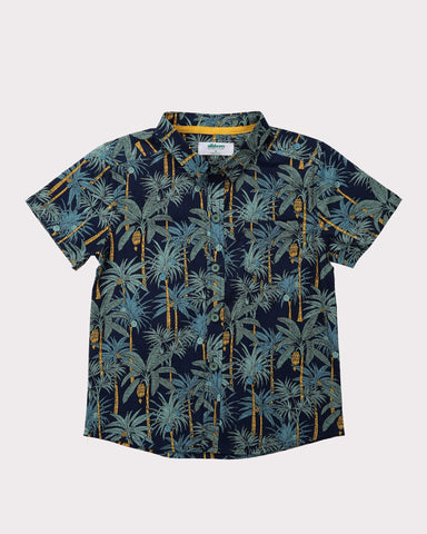 Clover Field Shirt in Navy