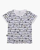 Seagulls and Stripes Tee Navy Front