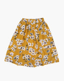 Floral Skirt Yellow Front