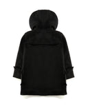 Duffle Coat in Black Back