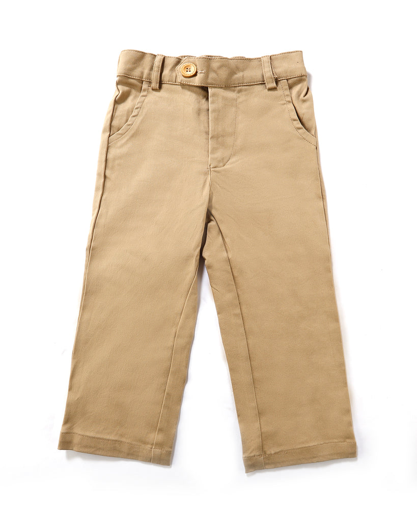 Signature Chino In Tan Front