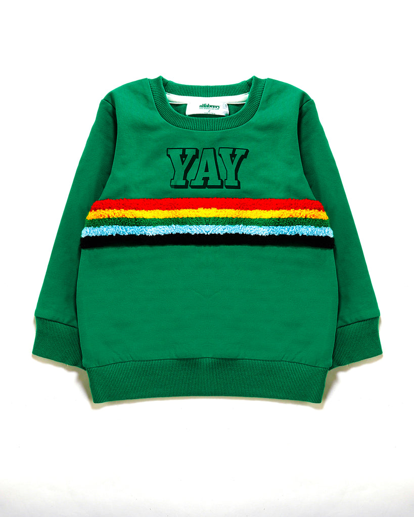 YAY Jumper in Green Front