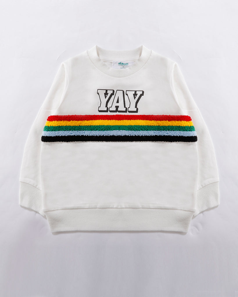 YAY Jumper in White Front