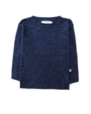 Pockets Long Sleeve Tee in Navy