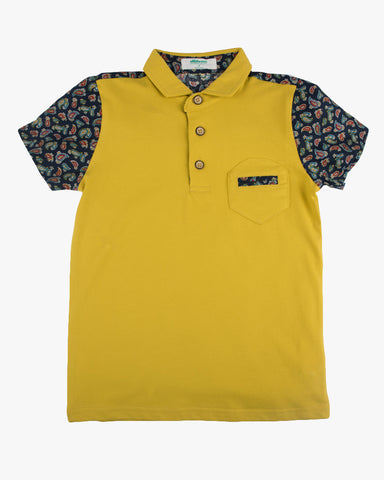 Paisley Park Polo in Grey