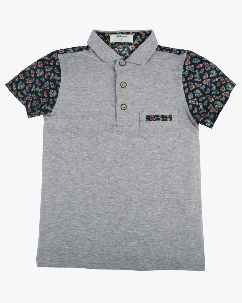 Paisley Park Polo grey