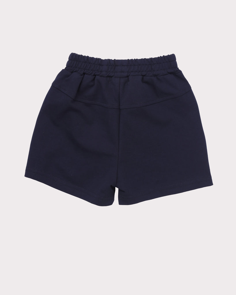 Piping Short in Navy back