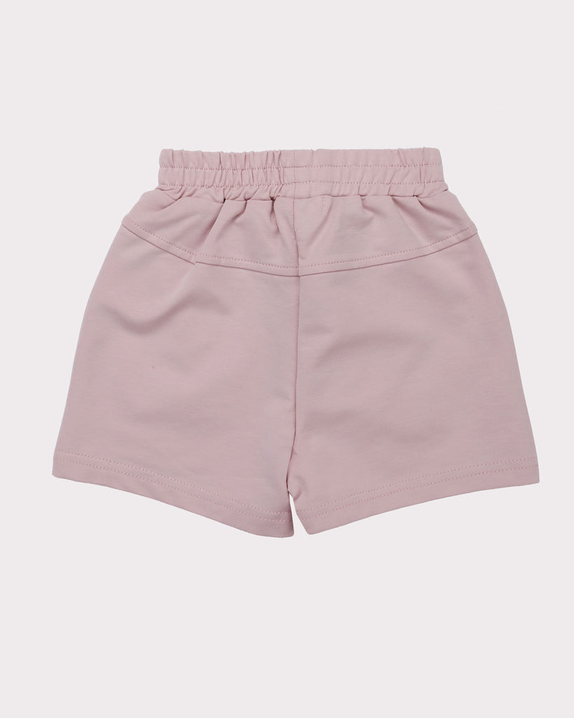 Piping Short in Peach back