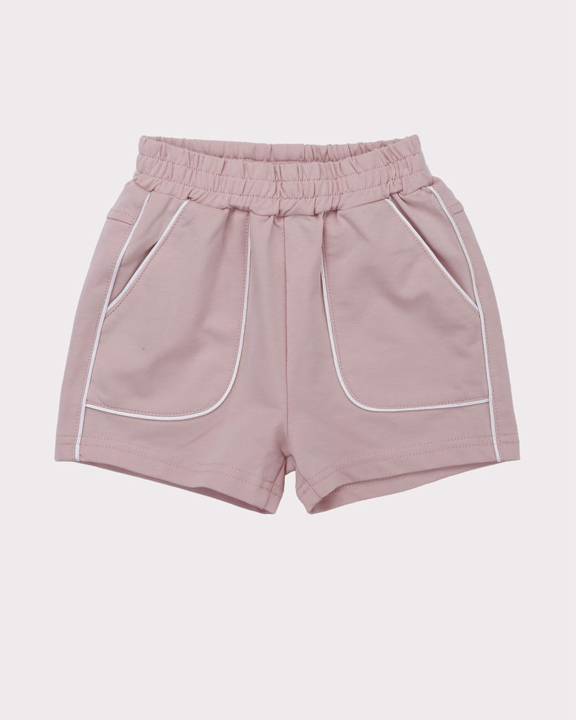 Piping Short in Peach front