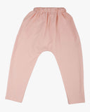 Slouch Jersey Pant dusty pink back
