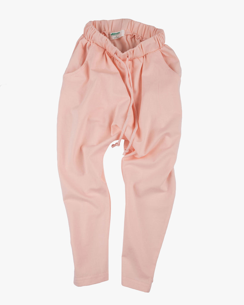 Slouch Jersey Pant dust pink front
