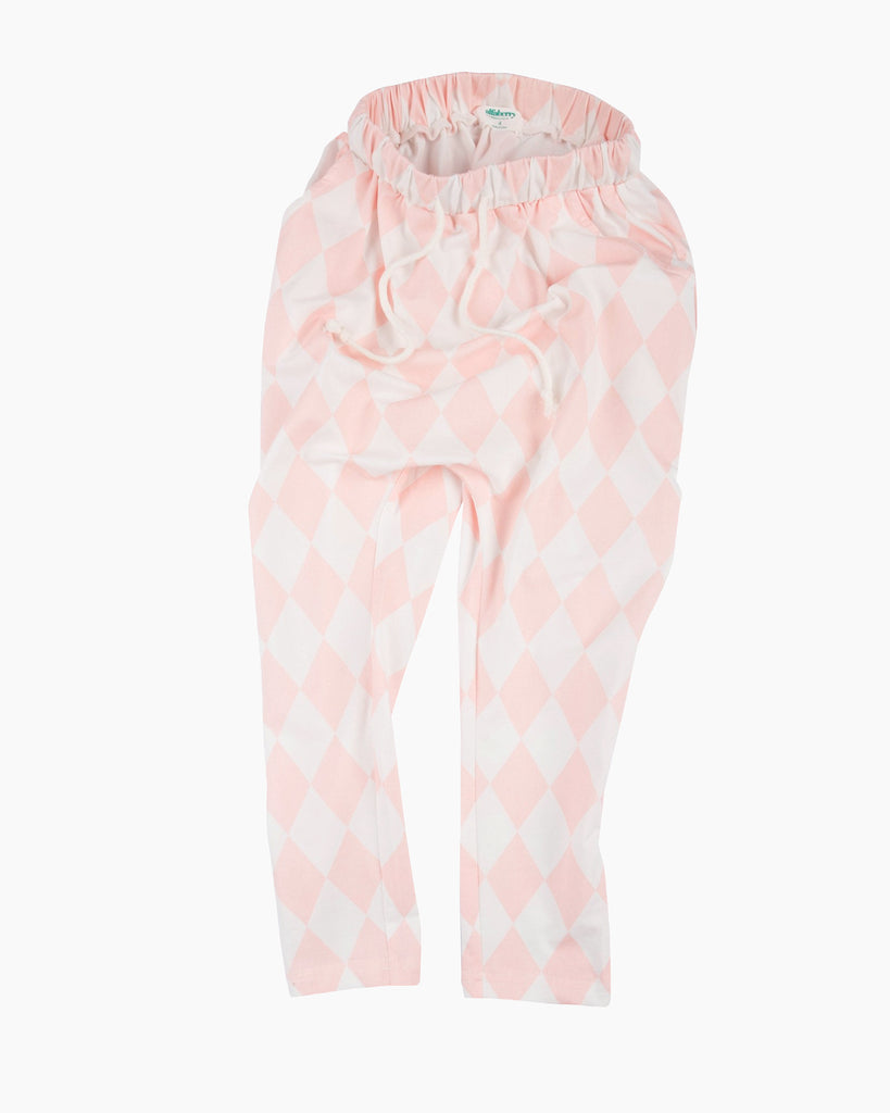 Slouch Jersey Pant harlequin front