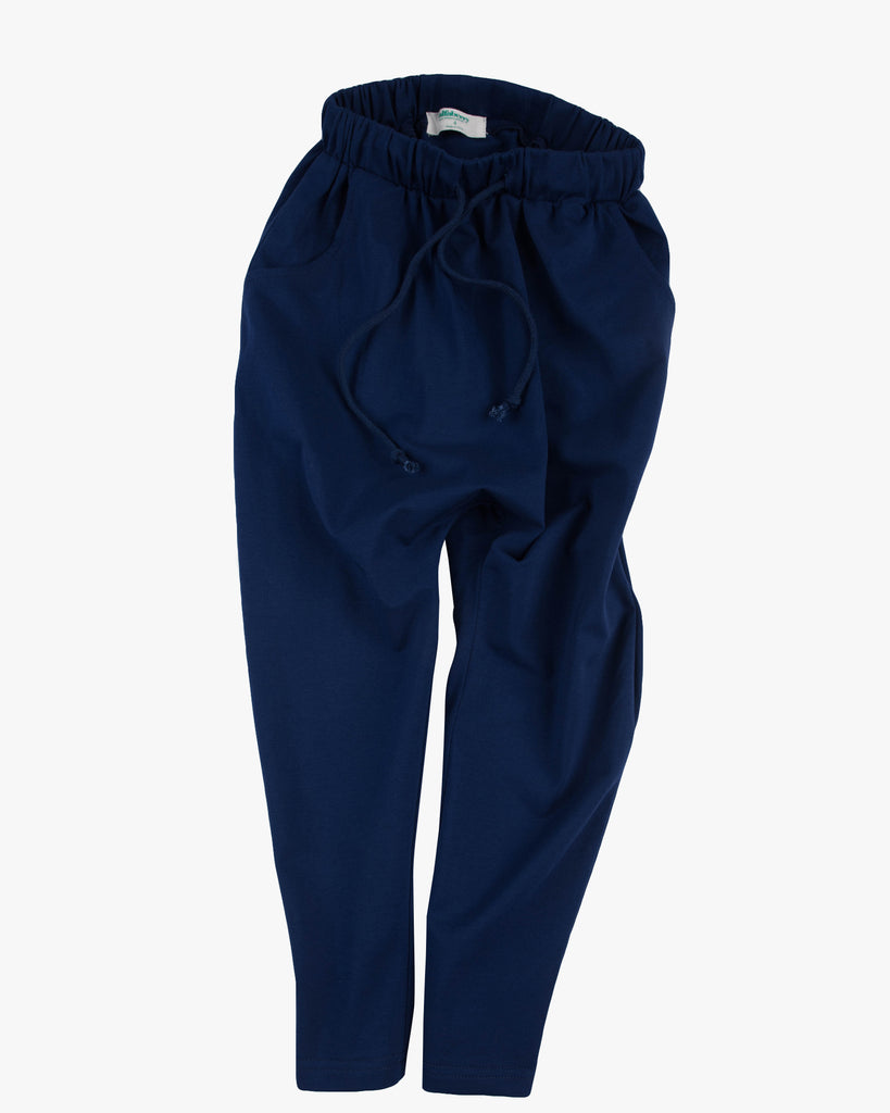 Slouch Jersey Pant navy front
