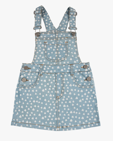 Dungaree Frill Dress