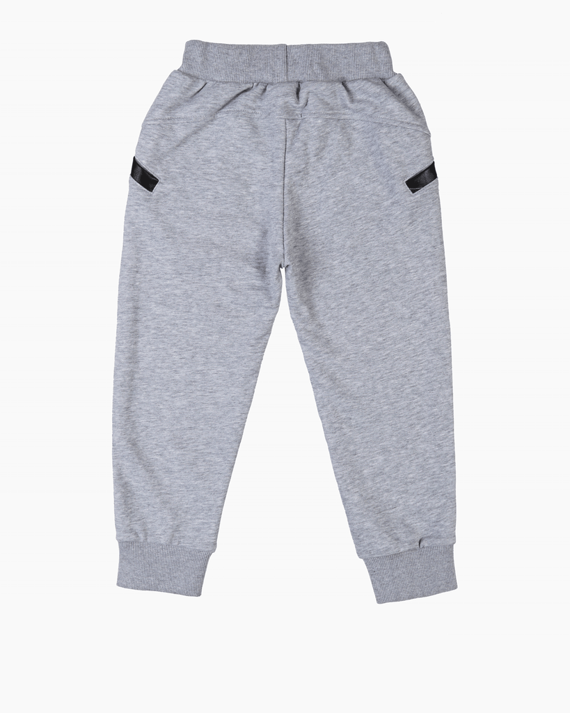 Track Pants Grey Back