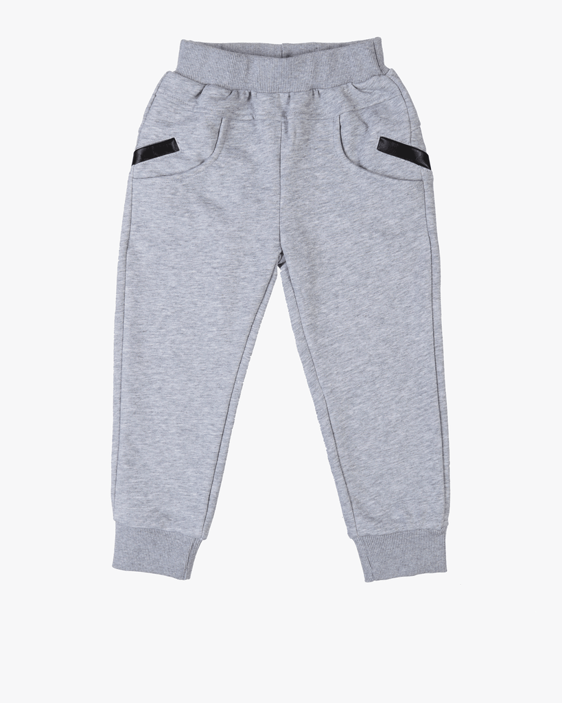Track Pants Grey Front
