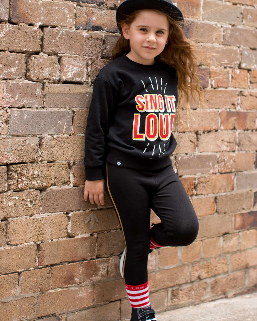 Buzz Band Legging Black