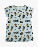 Cool Pineapple Tee blue