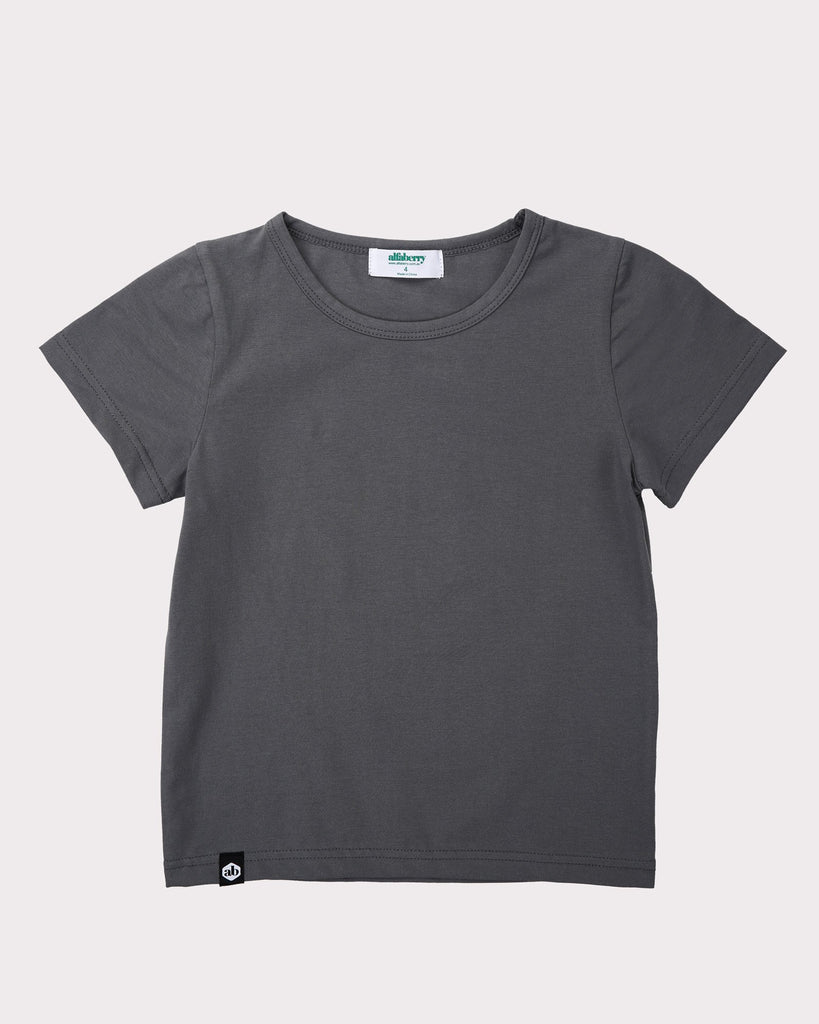 Forever Tee In Grey Front