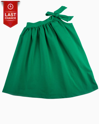 Sasha Embroidery Dress In Emerald