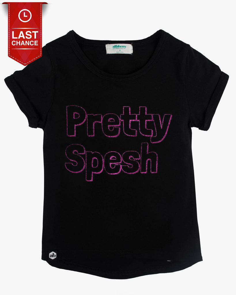 Pretty Spesh Tee Black