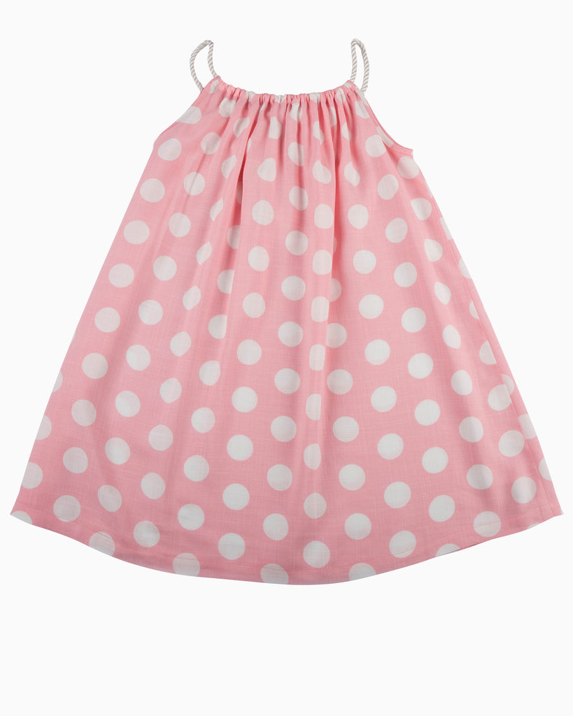Rope Dress in Polka Dot