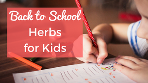 back to school herbs for kids