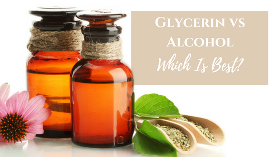 Glycerin Tincture vs Alcohol Tincture: Which is Best? - Khroma