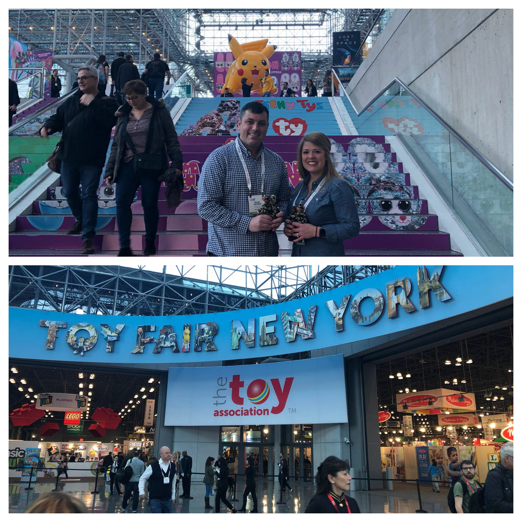Troop is headed to Toy Fair New York City tomorrow!!