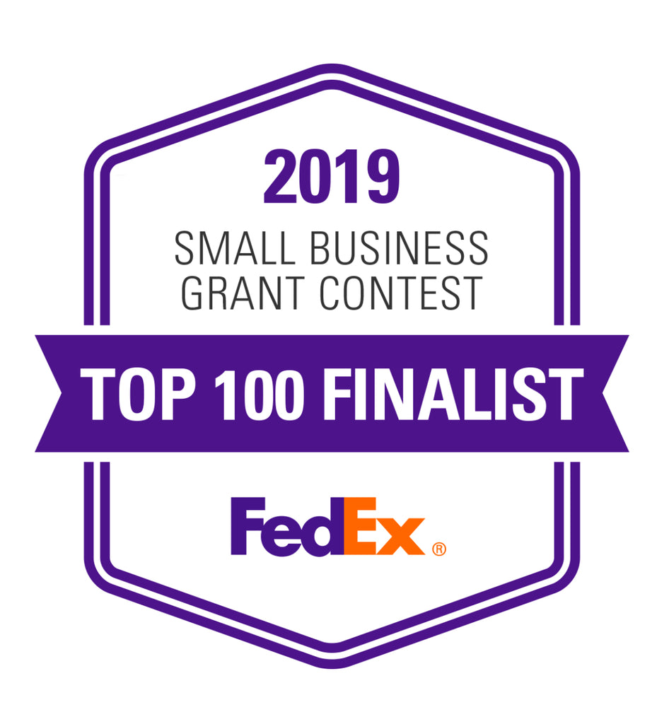 Because of you, we are a FedEx Top 100 Finalist!!